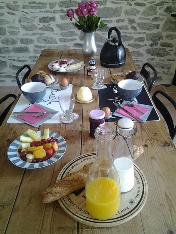 Location-de-vacances-roscoff petit déjeuner