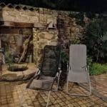 patio gîte roscoff